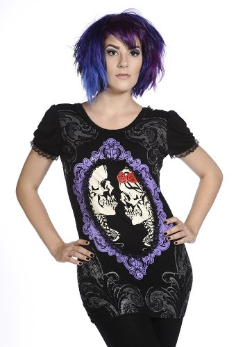 Banned Alternative Wear -  T-shirt - Donna nero M