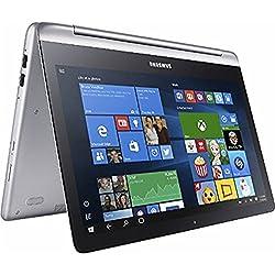 "Samsung Premium High Performance Samsung Notebook 7 Spin 13.3"" Full Hd 1920X1080 Touchscreen 2-In-1 Laptop Pc Intel I5-6200U Processor 8Gb Ram 1Tb Hdd Backlit-Keyboard 802.11Ac Wifi Hdmi-Silver"