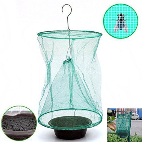 Alexsix Cocina Plegable Fly Bug Insecto Pest Net Catcher Cage Trap Killer Bolsas Colgantes Trampa para Moscas