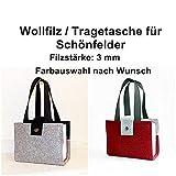 Wollfilz-Tasche/Schutzhülle für Gesetze, Schönfelder, Steuergesetze, VSV Hessen und andere