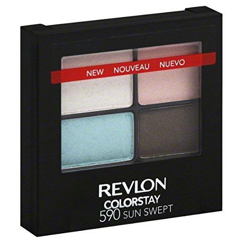 Revlon Colorstay 16 Hour Eyeshadow Quad - 590 Sun Swept