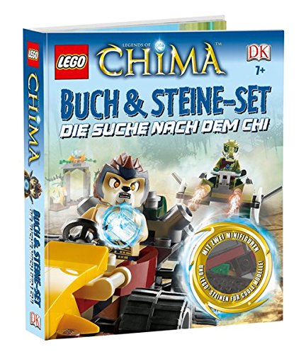 LEGO Legends of Chima Buch & Steine-Set: Die Suche nach CHI - Lego Chima-sets Legends Of