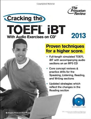 Cracking the TOEFL Ibt 2013 (Cracking the Toefl Ibt (Princeton Review) (Book & CD)) por Princeton Review