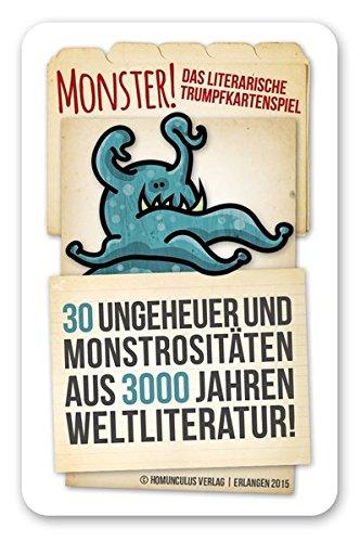 Monster.: Das literarische trumpfkartenspiel