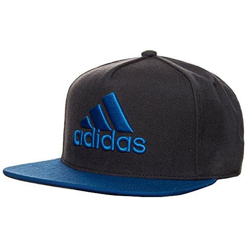 adidas X Flat Kappe, Dark Grey/Blue/Collegiate Navy, OSFM