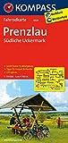 Prenzlau - Südliche Uckermark: Fahrradkarte. GPS-genau. 1:70000 (KOMPASS-Fahrradkarten Deutschland, Band 3029)