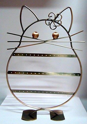 ESPOSITORE orecchini gioielli bigiotteria GATTO FIORE P manichino vetrina
