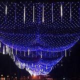 YAMADIE Net Light 10 * 8M-2000LED, Lampada a Rete Adatta per Interni ed Esterni Home Garden Christmas Party Wedding - Alta qualità: Durevole, Flessibile, Resistente alle Temperature Estreme.
