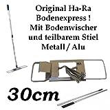 Ha-Ra Bodenexpress KOMPLETT mit teilbarem Stiel - 30cm Arbeitsbreite