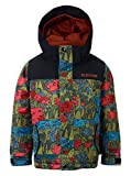 Burton Jungen Minishred Amped Snowboard Jacke, Never Ending Story/True Black, 2T