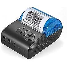 KKmoon POS-5805DD Mini 58mm Bluetooth Ricevuta Stampante Termica Bill Biglietteria POS Stampa per iOS Android Windows