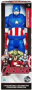 Hasbro B1669ES0 - Avengers Captain America, 30 cm