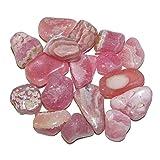 Rhodochrosit mini Trommelsteine Handschmeichler Wassersteine 20 g = 12 - 18 Steine je ca. 8 - 15 mm