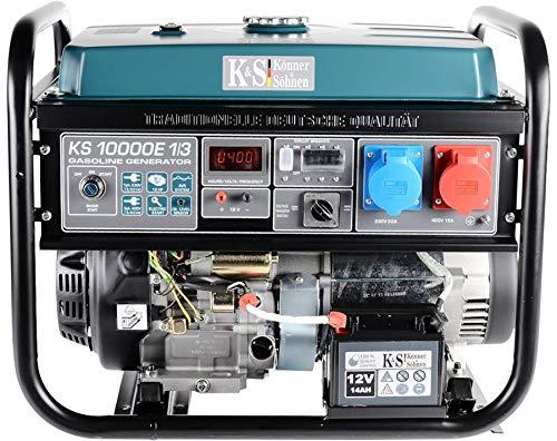 Könner & Söhnen KS 10000E-1/3 - Generador corriente