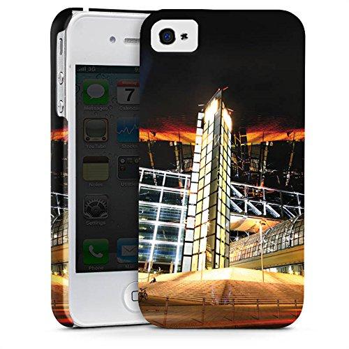 Apple iPhone X Silikon Hülle Case Schutzhülle Hauptbahnhof in Berlin Nacht Lichter Premium Case glänzend