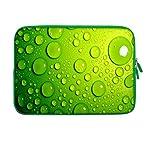 "15"" Zoll Design Laptop Notebook Hülle Sleeve Tasche mit farbigem Reißverschluss"