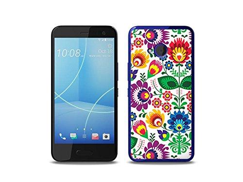 etuo HTC U11 Life Handyhülle Schutzhülle Etui Hülle Case Cover Tasche für Handy Fantastic Case - Folkscherenschnitt