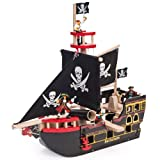 Le Toy Van Piratenschiff Barbarossa, Holz