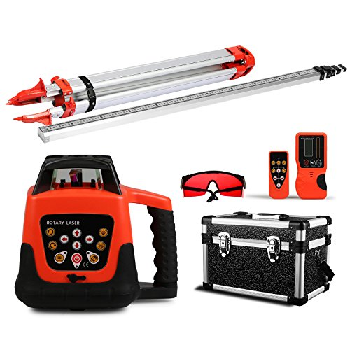 segmay-laser-level-rotary-self-leveling-rotary-laser-level-red-beam-remote-control-laser-level-kit-h