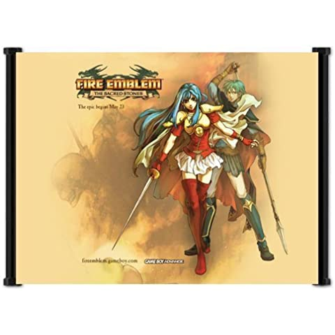Fire Emblem Sacred Stones Game Fabric Wall Scroll Poster (21