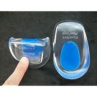 nabati Silikon Gel Comfort Heel Cups Pads/Einlegesohlen/Einlagen preisvergleich bei billige-tabletten.eu