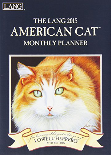 The Lang American Cat Monthly Planner 2015 Calendar (Planner Calendar Monthly 2015)