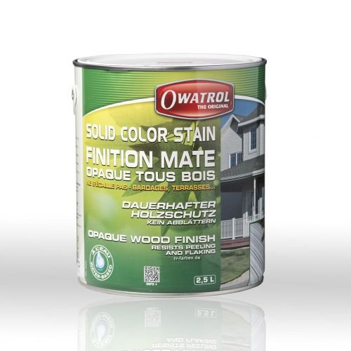 Owatrol Solid Color Stain 2,5 ltr. (Deckweiss) - Solid Color