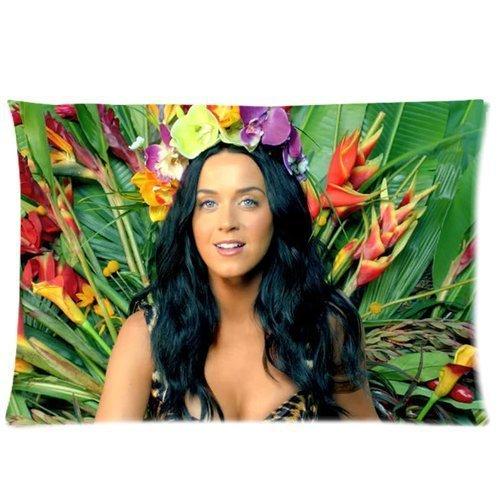 Preisvergleich Produktbild Hot Popular Singer Katy Perry 20 X 30 Inches Custom Cushion Throw Pillow Cover Case By Funny Gift
