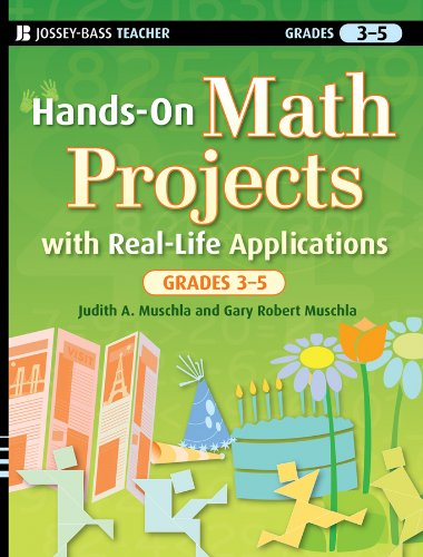 Hands-On Math Projects with Real-Life Applications, Grades 3-5 (J-B Ed: Hands On)