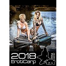 ErotiCarp RT4 Baitboat - alta calidad, calendario de pesca erótica 2018 - 15 páginas! - Encuadernación espiral de calendario de pesca de la carpa erótica