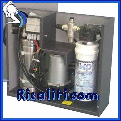 Erogatore d'acqua Fonteazzurra Easy Gas sotto lavello, completo di purificatore W2P, acqua depurata ambiente e gassata