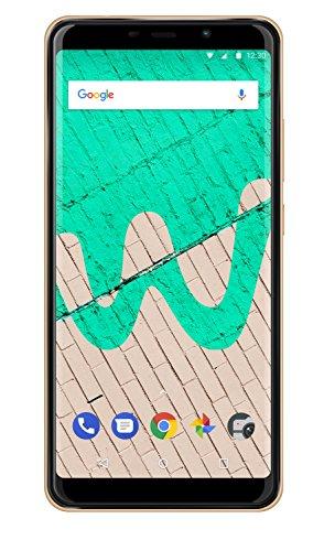 Wiko View Max Smartphone da 32 GB, Gold, [Italia]