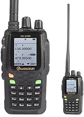 Wouxun KG-UV8D Doble Banda 134-174 / 400-520 MHz 999CH Repita Dos Vías de Radio Walkie Talkie