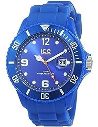 Ice-Watch - ICE forever Blue - Montre bleue mixte avec bracelet en silicone - 000125 (Small)