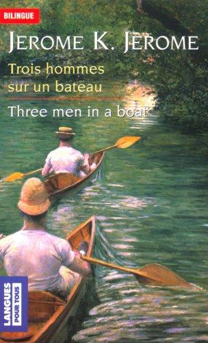 Trois hommes dans un bateau par J.-K. Jérôme