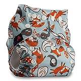 LittleBloom Bébé Tissu Couche Couches Lavables Poches Réutilisable, Fixation: POPPER, Lot De 1