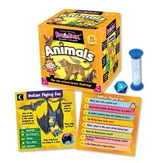 Green Board Games BrainBox Animals