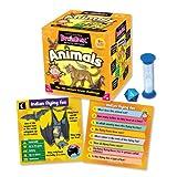 Green Board Games BrainBox Animals - Juego de Preguntas sobre Animales (en...