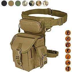 Pernera táctica militar Thermite Versipack de múltiples usos, 7 colores a elegir, Bronceado