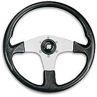 Ultraflex interior pierna o Córcega los Buques rueda mango de aluminio negro 350mm–58685