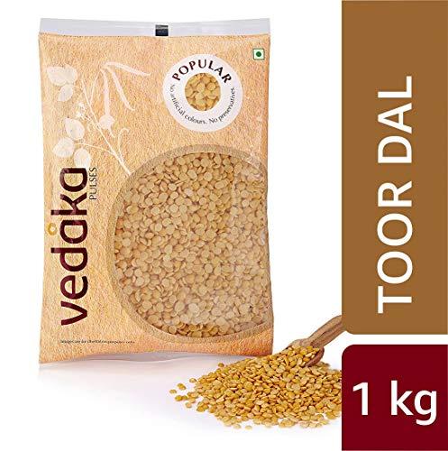 Amazon Brand - Vedaka Popular Toor/Arhar Dal, 1 kg