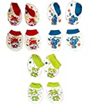 Baby Bucket Mittens and Booties 3 Pair S...