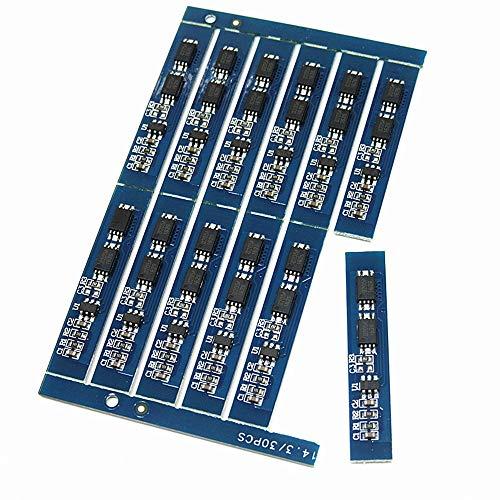 HOUYAZHAN 2 Series Protection Board 7,4 V 8,4 V Lithium-Batterie-Pack Protection Board 3A Aktuelle Überladung und Überentladung 7.4 V Pack