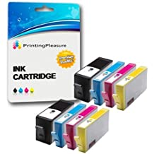 PRINTING PLEASURE 8 (2 SETS) Compatible Printer Ink Cartridges for HP Deskjet 3070A, 3520, 3522, 3524 / Officejet 4610, 4620 / Photosmart 5510, 5511, 5512, 5514, 5515, 5520, 5522, 5524, 6510, 6512, 6515, 6520, 7515, B010a, B109a, B109d, B109f, B109n, B110a, B110c, B110e / Photosmart Plus B209a, B209c, B210a, B210c, B210d / Replacement for HP 364XL