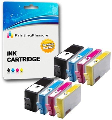 8 Cartouches d'encre compatibles pour HP Deskjet 3070A, 3520, 3522, 3524 / Officejet 4610, 4620 / Photosmart 5510, 5511, 5512, 5514, 5515, 5520, 5522, 5524, 6510, 6512, 6515, 6520, 7515, B010a, B109a, B109d, B109f, B109n, B110a, B110c, B110e / Photosmart Plus B209a, B209c, B210a, B210c, B210d / Remplacement pour HP 364XL