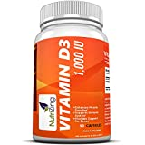 NutriZing Supplemento Vitamina D3 1000 IU, 90 capsule