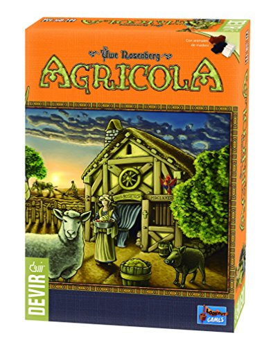Agricola juego de mesa eurogame
