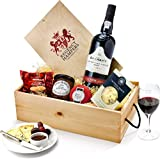 Regency-Hampers-Port-Red-Wine-and-Stilton-Favourites-in-Wooden-Box