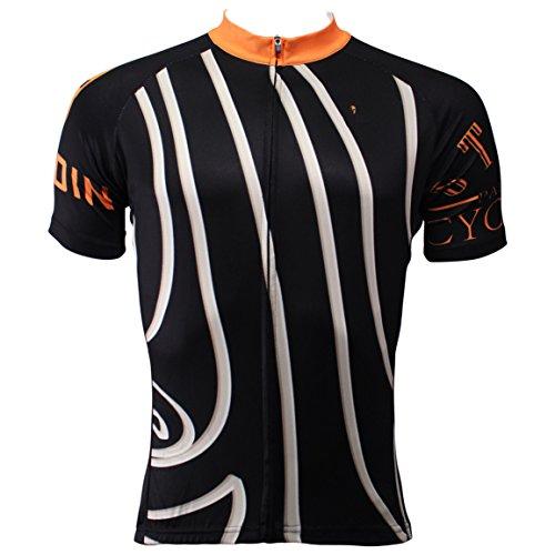 Moda Maglia Ciclismo Jerseys Per Uomo corta manica Estivo Abbigliamento bici della Sports maglietta Cycling Shirts gilet traspirante prestazioni traspirazione comodo Fast-Cool Men's Cycling Jerseys 2X-Large