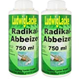 2 x 750 ml Radikal Abbeizer Abbeizmittel
